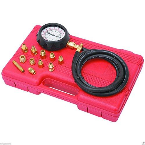 14 piece Engine Oil Pressure Tester Test Gauge Diagnostic Test Tool Set Kit by Jecr (Image #2)