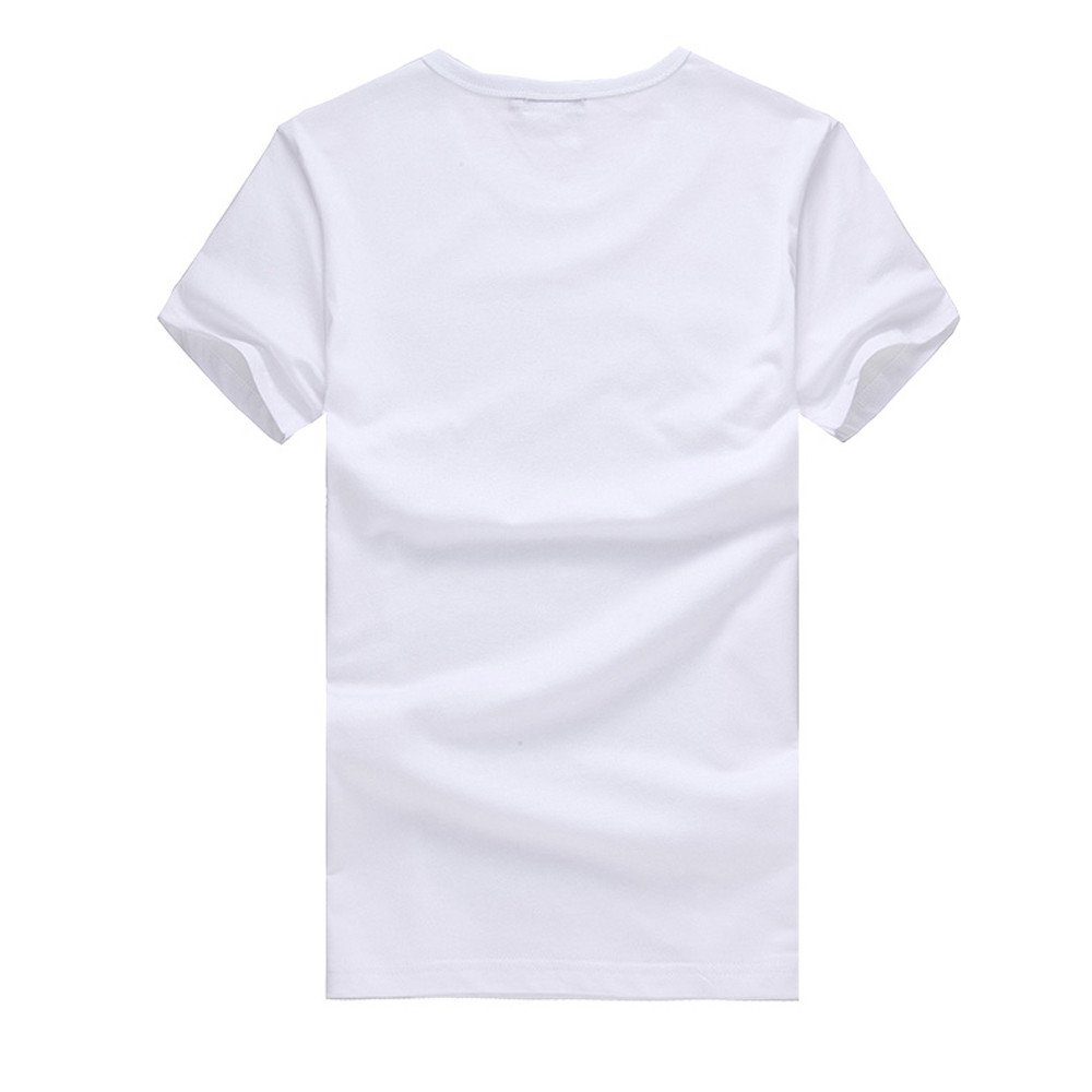 Fashion Print T Shirt Men Donci Casual Comfort Daily Summer Basic New Tees Round Neck Umbrella Pattern Solid Tops