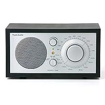 Tivoli Audio Model One M1SLB AM/FM Table Radio, Black Ash/Silver