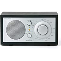 Tivoli Audio Model One M1SLB AM/FM Table Radio, Black Ash/Silver