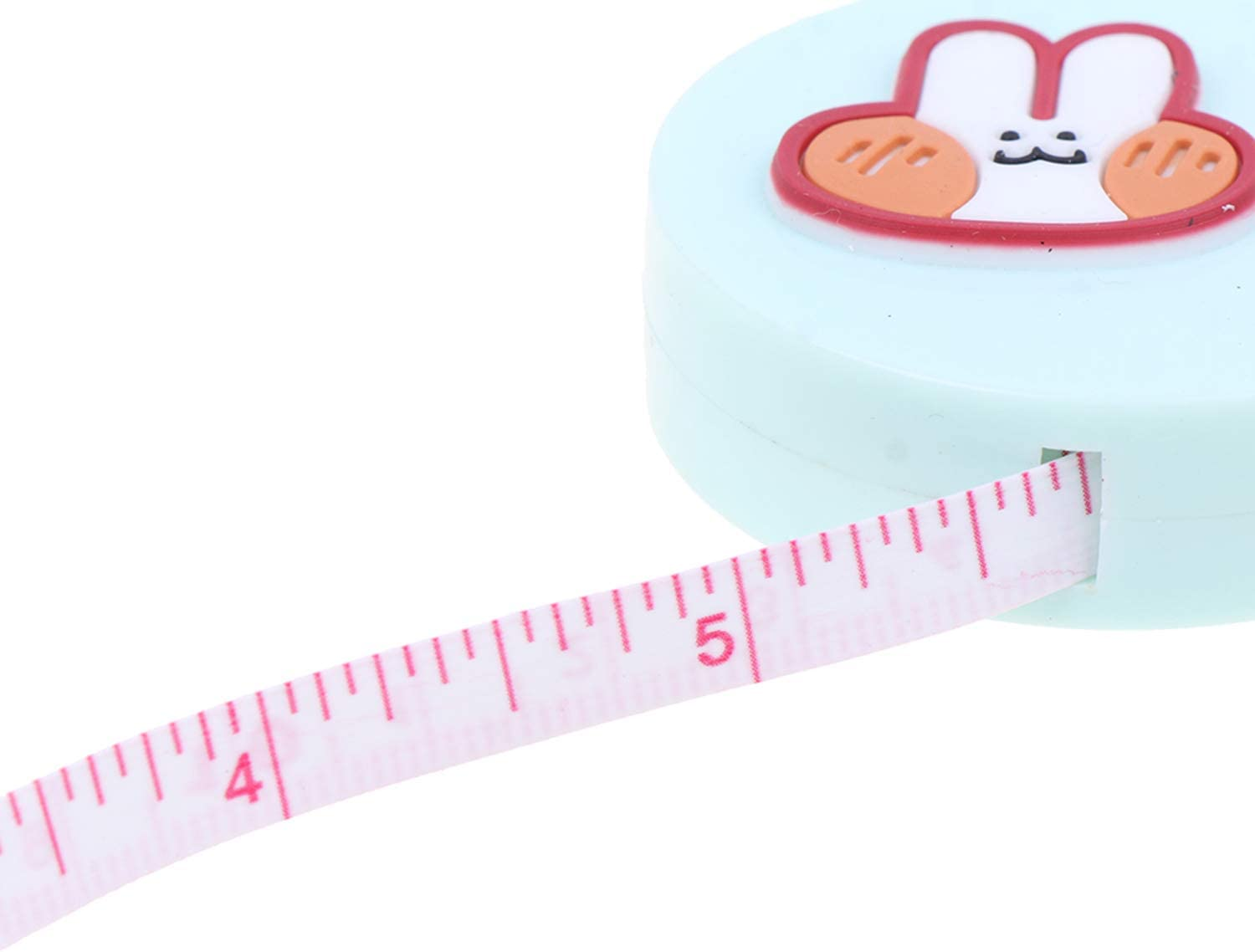 37YIMU 6 Pack Tape Measure 150 cm 60 Inch Soft Retractable Tape Body Measuring for Sewing Double-Sided Tailor Cloth Ruler Knitting Home Craft Measurements