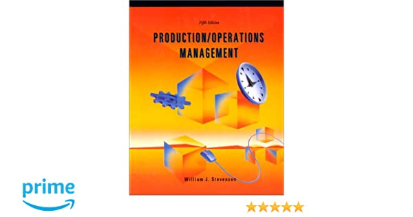 Productionoperations management irwin series in production productionoperations management irwin series in production operations management william j stevenson 9780256139006 amazon books fandeluxe Image collections