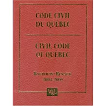 Code civil du quebec 2004-2005