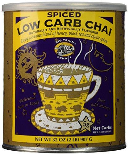 Big Train Carb Conscious Drink Mix, Spiced Chai, 2 (Big Train Low Carb)