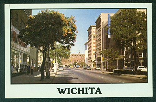 sas Shops Buildings Street View Vintage KS Postcard (Kansas Ks Postcard)
