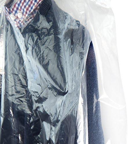 Hangerworld 30 Housses 50cm x 40cm Transparentes et Imperm/éables de Pressing pour V/êtements Enfants