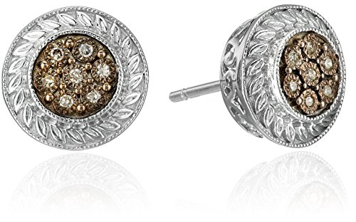 sterling-silver-champagne-diamond-accent-round-stud-earrings
