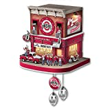 Ohio State Buckeyes Wall Clock with Lights Sound Motion by The Bradford Exchange
