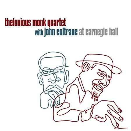 Image result for john coltrane thelonious monk carnegie hall