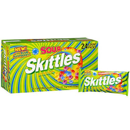 Sour Skittles® Candy - 1.8 Oz. - 24 Ct.- SCS