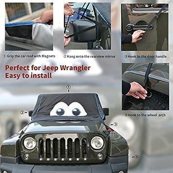 WINTER SUV Halbgarage Frostschutz Abdeckung Jeep Renegade