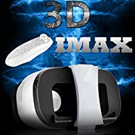 3d VR Lunettes casque/Bevifi, casque de réalité virtuelle avec télécommande pour 4.0–16,5 cm iOS/Android iPhone 7/7 Plus/6/6S Plus/SE/5S, Samsung Galaxy S7 edge/S7/S6/A5/A3 2016, Sony LG HTC Huawei Xiaomi etc.