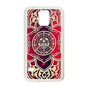 peace and justice obey Red star flowers Cell Phone Case for Samsung Galaxy S5