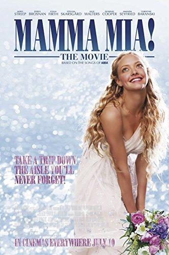 Mamma Mia! Original Movie Poster - Dbl-Sided - Meryl Streep - Pierce Brosnan -