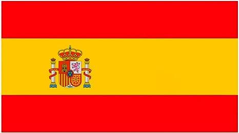 Oedim Pack 2 Banderas de España | Medidas 85x150cm | Reforzada y con Pespuntes | Bandera de España y 4 Ojales Metálicos | Resistente al Agua: Amazon.es: Hogar