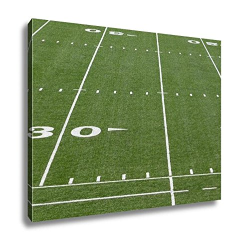 Ashley Canvas, A New Astro Turf Foot Ball Field, Home Decoration Office, Ready to Hang, 20x25, AG5438623 by Ashley Canvas