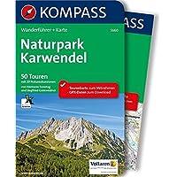Naturpark Karwendel: Wanderführer mit Extra-Tourenkarte 1:35.000, 50 Touren, GPX-Daten zum Download. (KOMPASS-Wanderführer, Band 5660)
