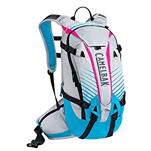 CamelBak K.U.D.U. 12 Cycling Backpack Silver/Atomic Blue