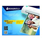 Marigold 205-Count Pack 3 mil Letter Size, 9''x11.5'', Thermal Laminating Pouches Laminator Film Sheets for Laminator Machine (TLP3LTR)