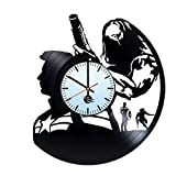 Cheap Winter Soldier Captain America Vinyl Record Wall Clock – Get unique home wall decor – Gift ideas for boys and girls – MARVEL COMICS Unique Art Design – Leave us a feedback and win your custom clock