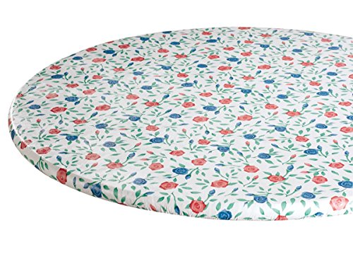 Amazon Com Buds N Blooms Vinyl Elasticized Table Cover