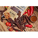 Beef Jerky Meat Snacks, OG Spicy 2.5 Ounce - By Chudabeef