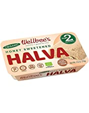 Wellbee's Honey Halva - Paleo & SCD Approved - No Additives, Refined-Sugar, or Artificial Sweeteners - 75g Each