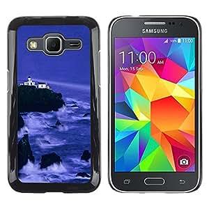 iKiki Tech / Estuche rígido - Nature Beautiful Forrest Green 143 - Samsung Galaxy Core Prime SM-G360