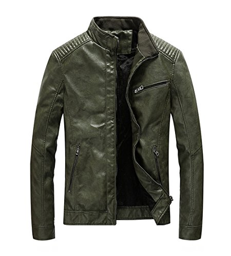 Leather Army Jacket - 2