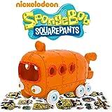 "SpongeBob SquarePants® 5"" Rock Bottom® Bus Aquarium Ornament w/Bonus Stickers"