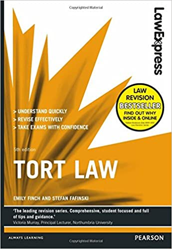 Law Express: Tort Law (Revision Guide): Amazon.co.uk: Emily Finch ...