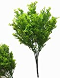 CATTREE Artificial Shrubs Bushes, Plastic Fern