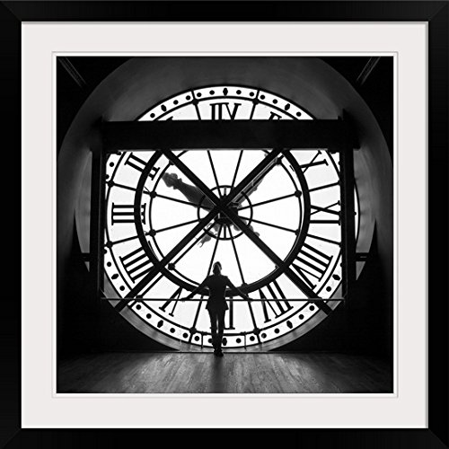 Clock Inside the Musee D'Orsay (Paris) Framed Print
