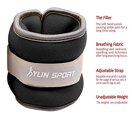 Ankle Weights and Wrist Leg Weights Hindawi for Women Men and Kids