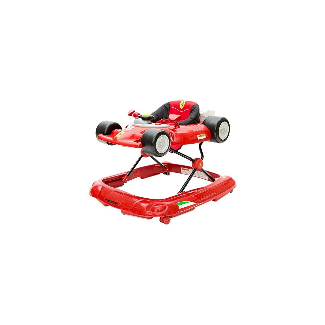 Combi Ferrari F1 Foldable Baby Walker With Racing Wheels Steering Wheel Activity Center And Built In Snack Tray Supercartribe Com