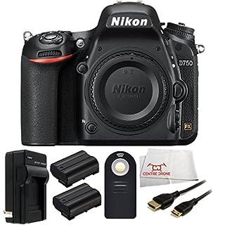 Nikon D750 FX-format DSLR Camera Body (1543) - International Version (No Warranty) + 2 Extended Life Replacement Batteries (EN-EL15) + MORE (B00NU9NWW6)   Amazon price tracker / tracking, Amazon price history charts, Amazon price watches, Amazon price drop alerts