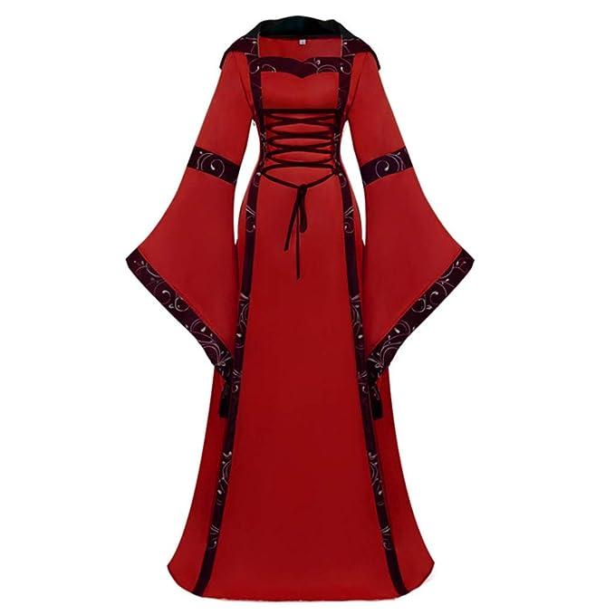 Amyline Disfraz De Bruja para Adulto,Vestido De Cosplay ...