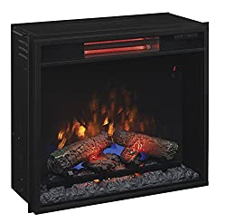 """ClassicFlame 23II310GRA 23"""" Infrared Quartz Fireplace Insert with Safer Plug by Twin Star International, Inc."""