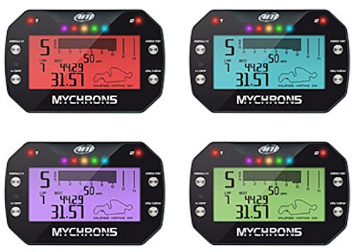 AiM MyChron 5 2T Dash Logger w/GPS w/WiFi - 2 Temp Sensors Included; EGT and Water Sensor