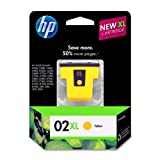 Kyпить HP 02XL Yellow High Yield Original Ink Cartridge (C8732WN) на Amazon.com