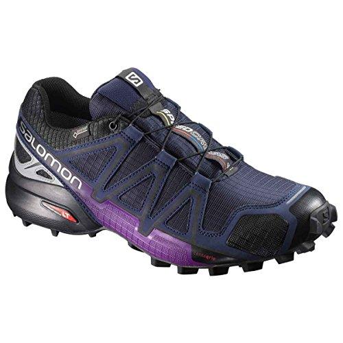 foncà Chaussures W 4 violet Speedcross Salomon GTX Nocturne de Trail Femme XxAOqIv