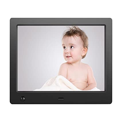 Amazon.com : Electronic Digital Picture Frame 8inch Digital Photo ...