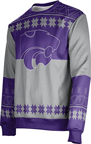 ProSphere Adult Kansas State University Ugly Holiday Jingle Sweater