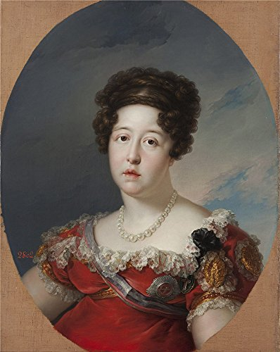 'Lopez Portana Vicente Isabel De Braganza Reina De Espana Ca. 1816 ' Oil Painting, 8 X 10 Inch / 20 X 26 Cm ,printed On Perfect Effect Canvas ,this Best Price Art Decorative Prints On Canvas Is Perfectly Suitalbe For Laundry Room Artwork And Home Decoration And Gifts
