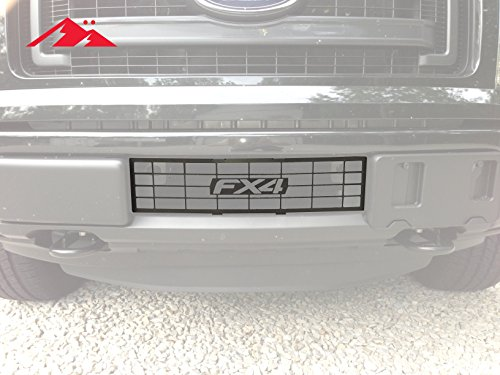 (Mountains2Metal Ford F-150 2009-2014 FX4 Lettering Bumper Grille Insert)