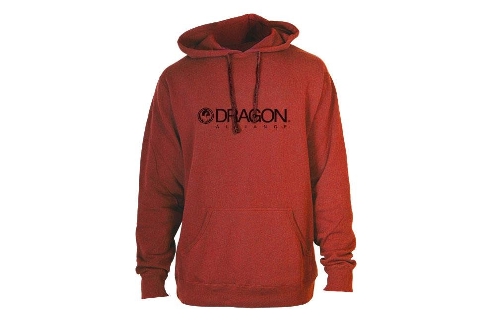 Dragon Alliance 723-3144-02X Trademark Hoody, Size: XL, Distinct Name: Red, Gender: Mens/Unisex, Primary Color: Red