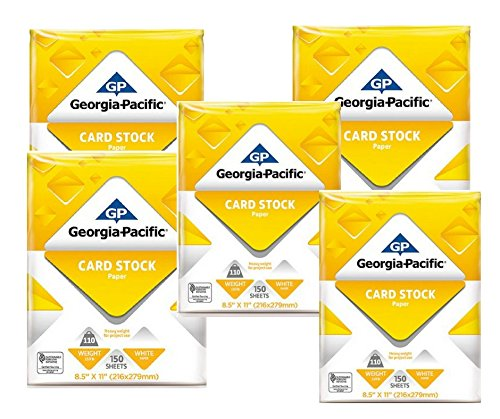 Generic Georgia-Pacific 150 Sheets 8.5