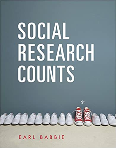 Cengage Advantage Books Social Research Counts