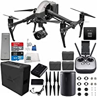 DJI Inspire 2 Premium Combo with Zenmuse X5S and CinemaDNG and Apple ProRes Licenses Videographer 120G Essential Bundle