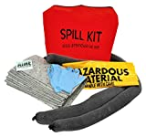 AIRE Industrial 942-006461 Spill Kit Universal Economy Portable, 5 gal, 4'' Height, 14'' Wide, 17'' Length, PVC, 14'' x 17'' x 4'', Orange PVC